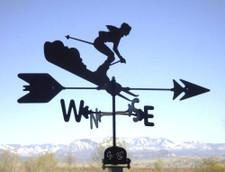 Skier Weathervane