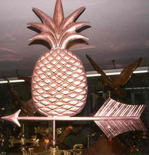 Large Pineapple Weathervane