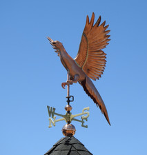 Flying Pheasant Weathervane