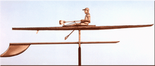 Rowing Shell Weathervane