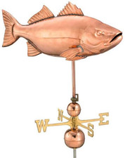 Jumbo Bass Weathervane