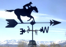 Jockey Weathervane