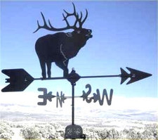 Bugling Elk Weathervane