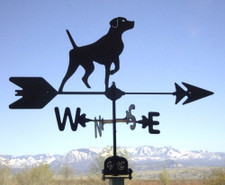 Short Hair Pointer Weathervane