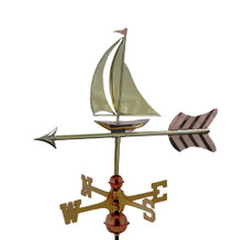 Small Sailboat Weathervane 1