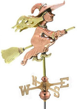 Small Witch Weathervane