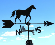 Walking Horse Weathervane