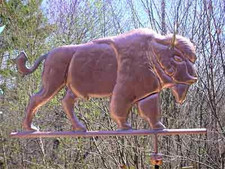 Large Buffalo Weathervane