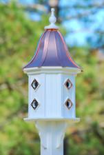 "14""W x 36""H - Octagon Dovecote Birdhouse"