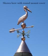 Standing Pelican Weathervane