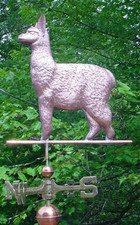 Alpaca Weathervane 1