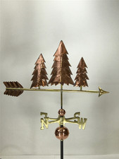 Three Pine Trees Weathervane