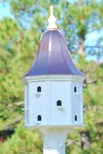 "22""W x 54""H - Purple Martin House"
