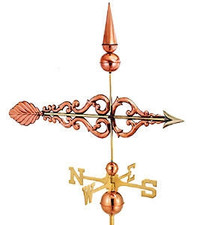 Scroll Arrow Weathervane 2