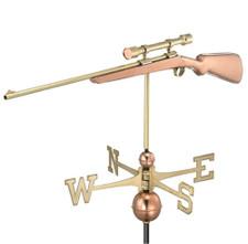 Rifle Weathervane