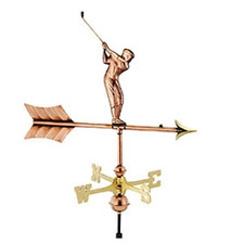 Small Golfer Weathervane