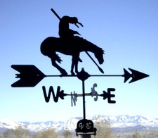 End of Trail Weathervane