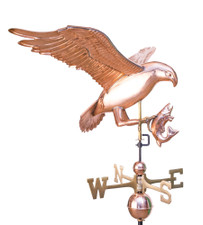 Osprey with Fish Weathervane 1