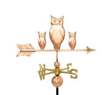 Three owls
