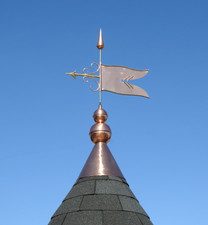 Finial Banner with Cap
