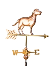 Small Lab Weathervane