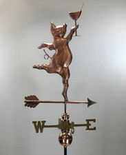 Party Pig Weathervane