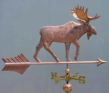Large Classic Moose Weathervane