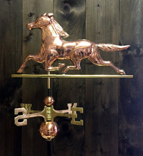 Running Horse Weathervane 1