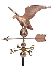 Jumbo Deluxe Eagle Weathervane