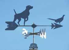 Pointer and Pheasant Weathervane