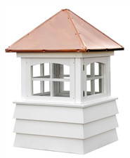 Windowed Kennebunk Cupolas