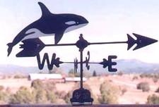 Killer Whale Weathervane