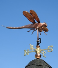 Small Dragonfly Weathervane