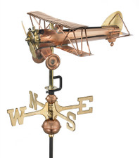 Small Bi Plane Weathervane 1