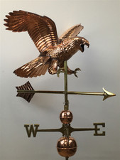 Large Diving Eagle Weathervane
