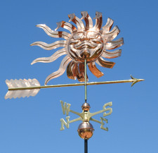 Large Shades Sunface Weathervane