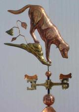 Dog and Bones Weathervane