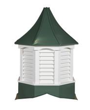 Salem arch metal cupolas