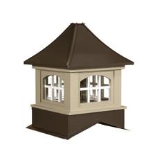 Milford arch metal cupolas