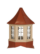 Winchester arch metal cupolas