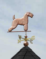 Fox Terrier Weathervane