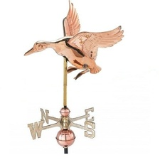 Small Landing Duck Weathervane