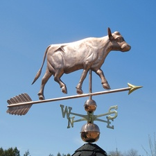 Large Cow Weathervane