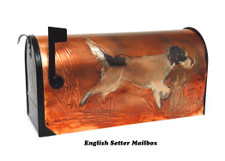 English Setter Mailbox