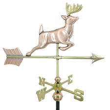 Small Leaping Buck Weathervane
