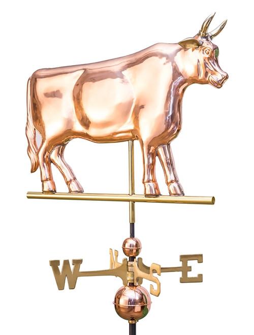 Large Bull Weathervane