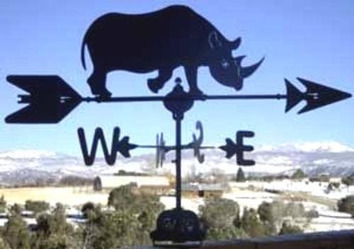Rhino Weathervane