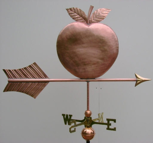 Large Apple Weathervane