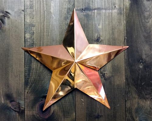 Copper Wall Star