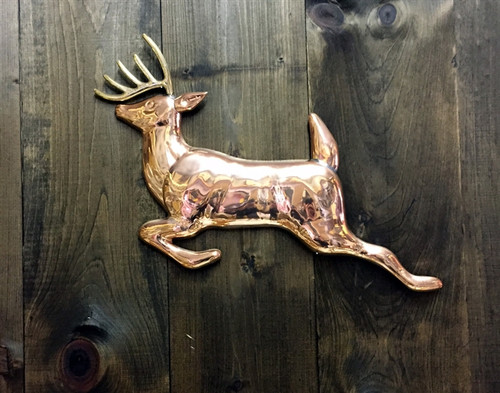 Copper Wall Deer